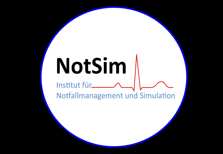 NotSim Logo im Kreis